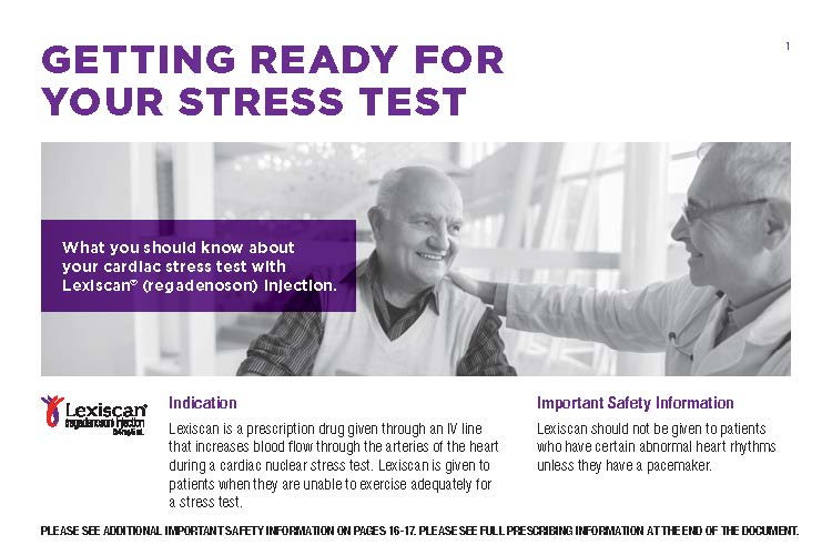Heart Stress Test Patient Resources From Lexiscan